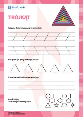 """Rysowanie figury """"trójkąt"""""""