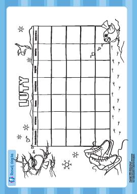 Tworzymy kalendarz: luty