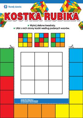Kostka Rubika: rozwijamy uwagę
