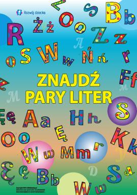 Znajdź parę do litery (polski alfabet)