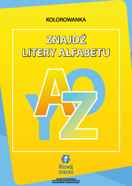 Znajdź litery polskiego alfabetu