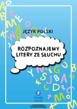 Rozpoznajemy polskie litery ze słuchu