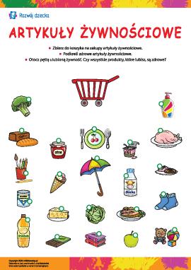 Artykuły żywnościowe: rozpoznajemy towary