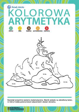 Kwiecista arytmetyka nr 9