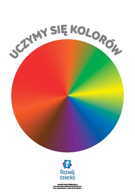 Uczymy się kolorów