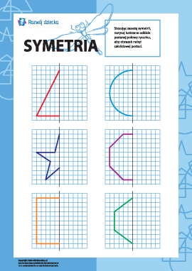 Uczymy się symetrii: nr 1