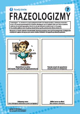 Frazeologizmy nr 7 (język polski)