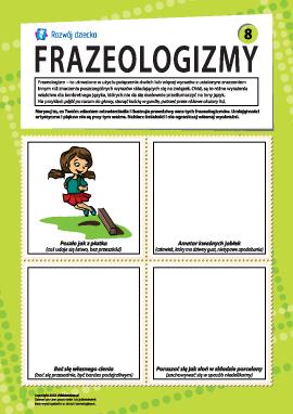 Frazeologizmy nr 8 (język polski)