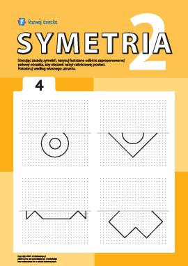 Poznajemy symetrię zgodnie z punktami nr 4