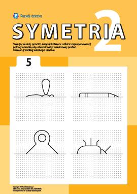 Poznajemy symetrię zgodnie z punktami nr 5