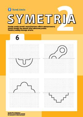 Poznajemy symetrię zgodnie z punktami nr 6