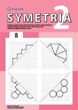 Poznajemy symetrię zgodnie z punktami nr 8