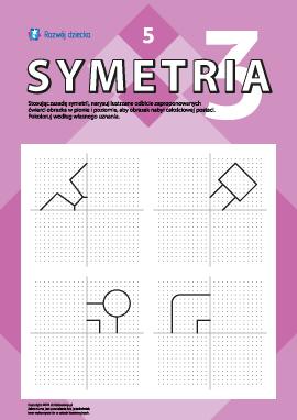 Poznajemy symetrię lustrzaną nr 5