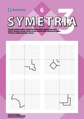 Poznajemy symetrię lustrzaną nr 6