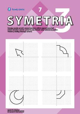 Poznajemy symetrię lustrzaną nr 7