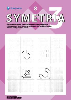 Poznajemy symetrię lustrzaną nr 8