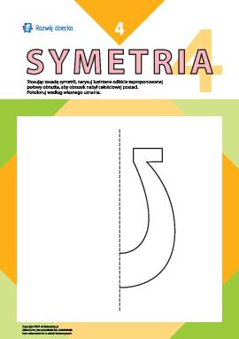 Uczymy się rysować symetrycznie nr 4