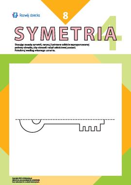 Uczymy się rysować symetrycznie nr 8