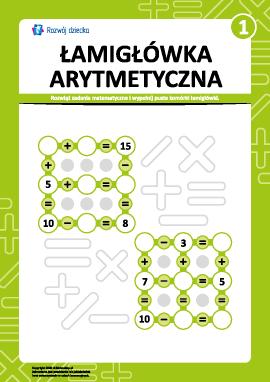 Łamigłówka arytmetyczna nr 1