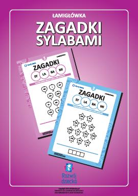 """""""Zagadki sylabami"""" (język polski)"""