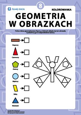 """""""Geometria w rysunkach"""": zadanie nr 8"""