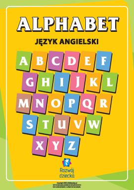Pisanie liter alfabetu angielskiego