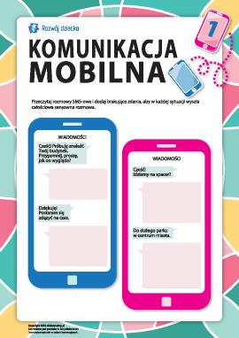 Komunikacja mobilna nr 1: nawyki mówienia piśmiennego