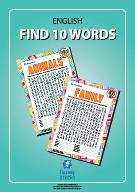 Szukamy angielskich słów