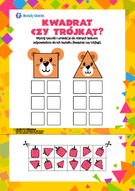 Kwadrat lub trójkąt