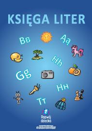 Księga liter: utrwalenie wiedzy alfabetu (język polski)