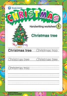 Słowniczek bożonarodzeniowy: Christmas tree