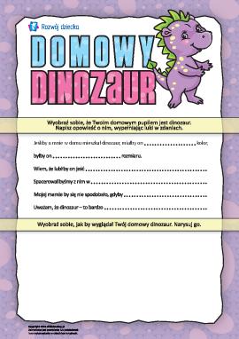Domowy dinozaur: opisujemy przedmioty i istoty