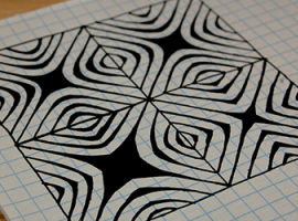 Efektowna grafika 3D: Zentangle