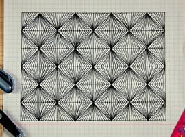 Zentangle — abstrakcja, którą miło się rysuje