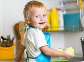 Pełnienie obowiązków domowych jest pożyteczne dla dzieci