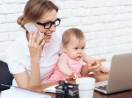 Jak pracować zdalnie w domu, mając dzieci pod opieką
