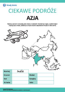 Ciekawe podróże: Azja