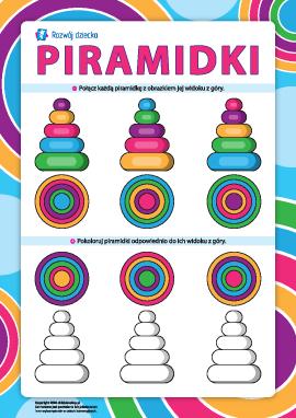 Piramidki: rozwijamy logiczne myślenie