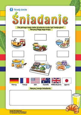 Śniadanie: kuchnia narodów świata