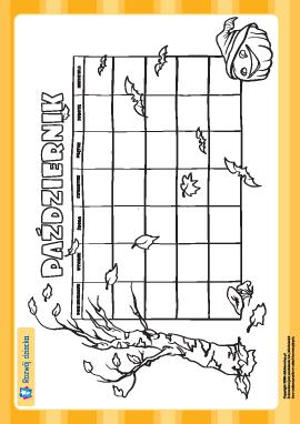 Tworzymy kalendarz: październik