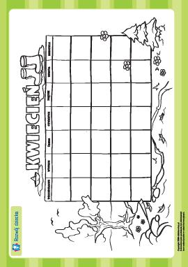 Tworzymy kalendarz: kwiecień