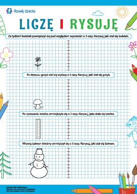 Liczymy i rysujemy: uczymy się matematyki