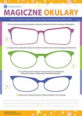 Magiczne okulary: poznajemy świat