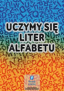 Pokoloruj litery (polski alfabet)