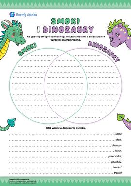 Smoki i dinozaury: twórcze porównanie