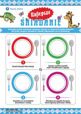 Najlepsze śniadanie: co lubią jeść zwierzęta?
