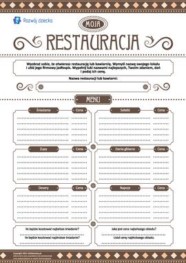 Moja restauracja: projektujemy
