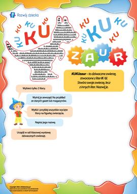KUKUzaur: tworzymy zwierzę z liter