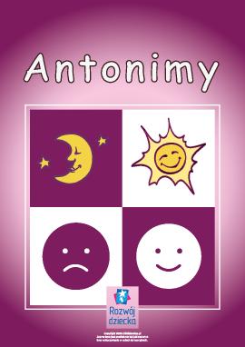Zestaw: poznanie antonimów