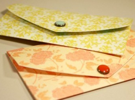 Jak przekształcić papierowe serduszko w mini-kopertę